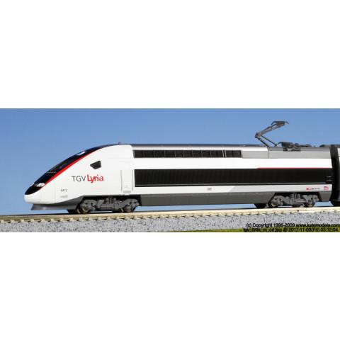 Kato N - TGV Lyria. Composição com 10 carros - Kato Japão: 10-1325