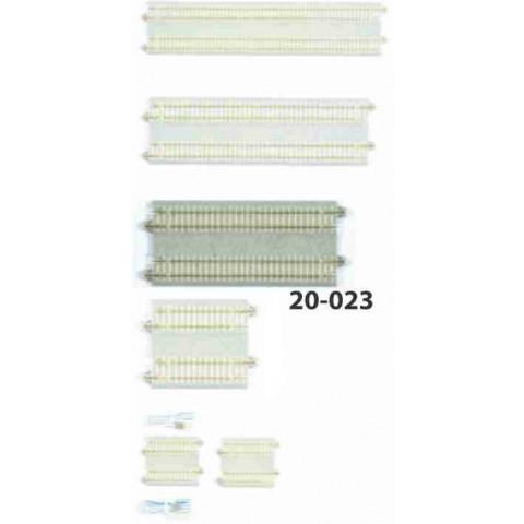 Kato N - Trilho Reta Dupla - 124mm: 20-023