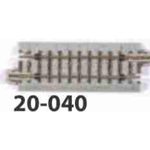 Kato N - Trilho Reta Simples - 62mm: 20-040