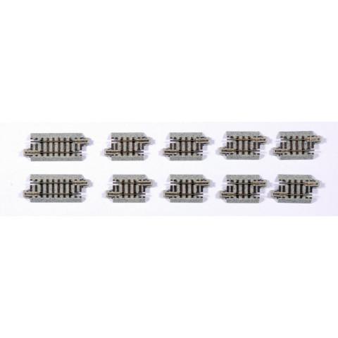 Kato N - Trilhos Simples - 29mm e 45,5mm: 20-091