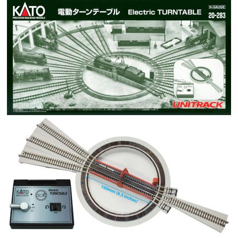 Kato N - TURNTABLE Elétrico (Virador de locomotiva): 20-283