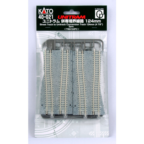 Kato N UNITRAM - Trilho Adaptador Unitrack: 40-021