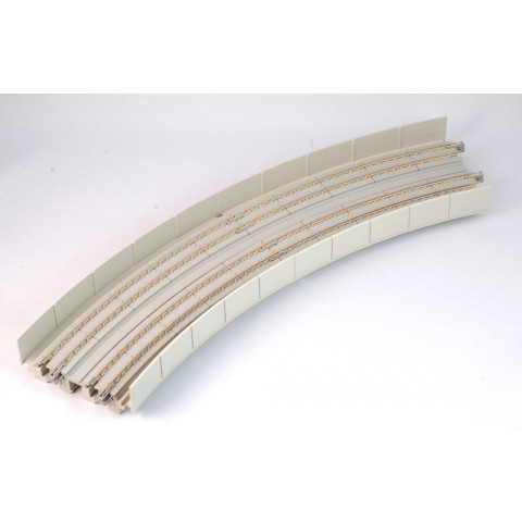 Kato N - Viaduto de Concreto Pista Dupla, Curva de Transição: R381 / R414, 22,5° - 20-545