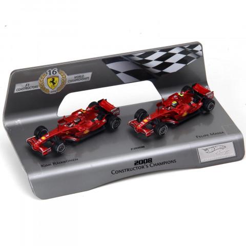 Hot Wheels - Ferrari F2008 Mundial de Construtores - 1/43: L8784