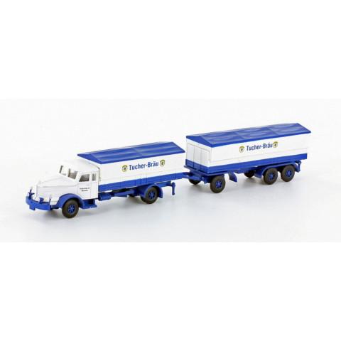 Minis / Lemke - Caminhão Krupp Titan Tucher (N): LC3314