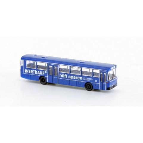 "Minis / Lemke - Ônibus Estático MB O 307, DB ""Wertkauf"" (N): LC4022"