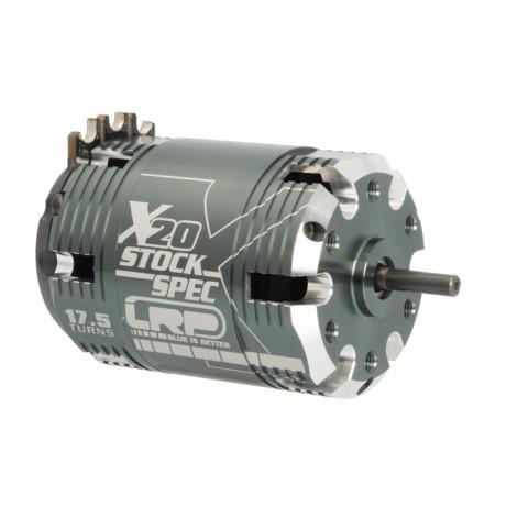 LRP - Motor  X20 BL STOCKSPEC: 17.5T - 1:10 - 50854