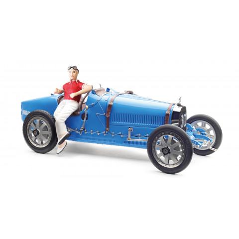 CMC - Bugatti Type 35 #30, Grand Prix, com Figura Feminina: M-100 B-018