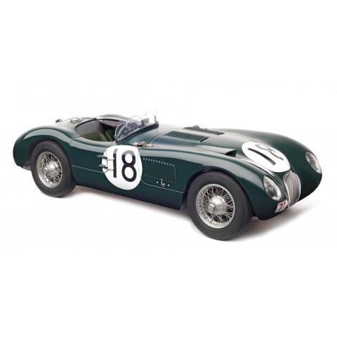 CMC - Jaguar C-Type #18, 24h France, 1953: M-195