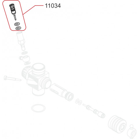 Novarossi -  Agulha de Alta: NV-11034