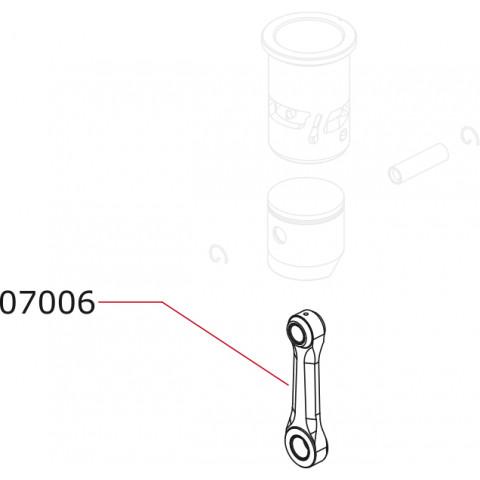Novarossi - Biela R4, 3,5cc: NV-07006