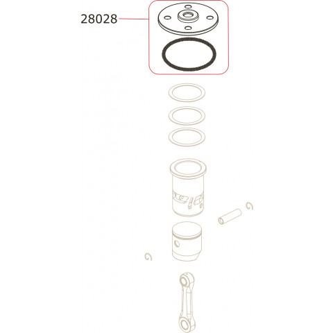 Novarossi - Espoleta .21 (3,5cc): NV-28028 - Off-Road
