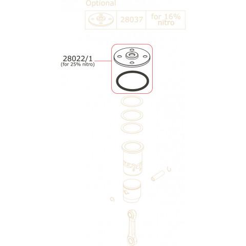 Novarossi - Espoleta, 3,5cc: NV-28022/1
