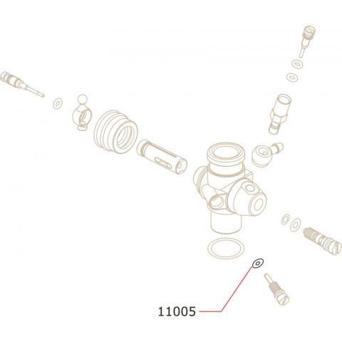 Novarossi - O-Ring Agulha Baixa: NV-11005
