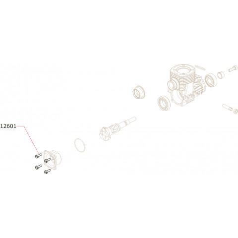 Novarossi - Parafusos da Tampa Traseira: NV-12601