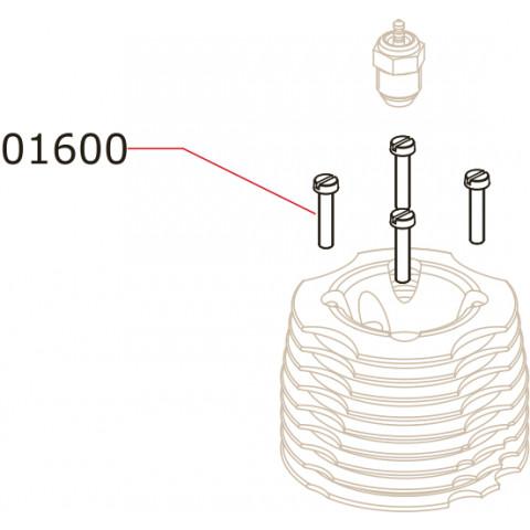Novarossi - Parafusos de Cabeçote: NV-01600