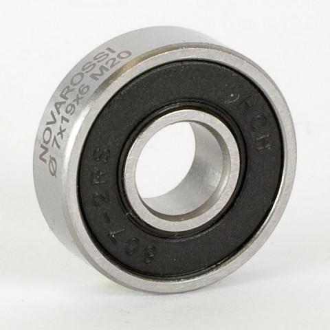 """Novarossi - Rolamento em Aço, dianteiro """"Double Rubber"""" : NV-17007"""