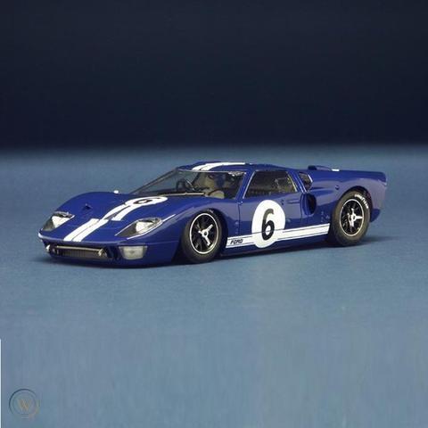 NSR - Ford MK II GT40 Azul #6, Le Mans 1966 - 1080SW