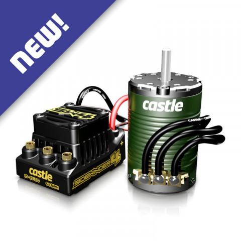 Castle - SIDEWINDER 4 c/ Motor 1410-3800Kv, eixo de 5mm: 010-0164-06