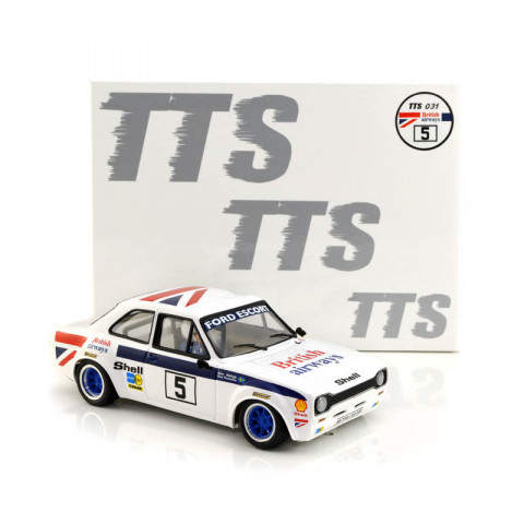 BRM / TTS - Ford Escort Mk 1 #5 BRITISH AIRWAYS (1:24): TTS-031