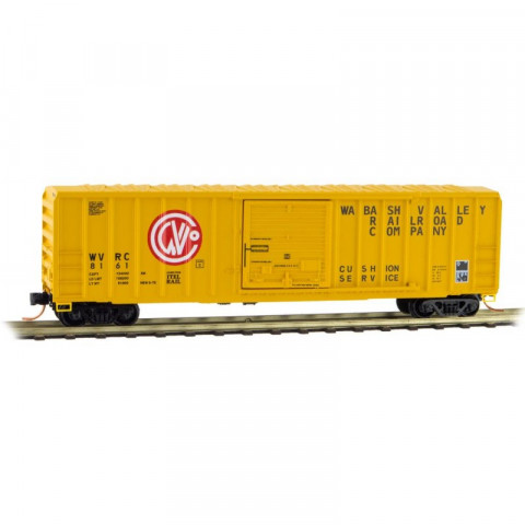 Micro-Trains N - Vagão Fechado de 50', Rib Side Box Car, WVRC #8161