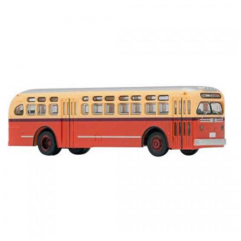 """TOMYTEC - Ônibus Estático """"N"""", Compatível com """"BUS System"""", GMC TDH4512: WB002"""