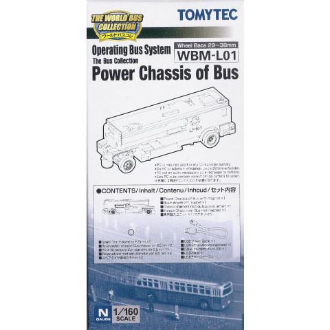 TOMYTEC - Chassi motorizado para BUS System: WBM-L01