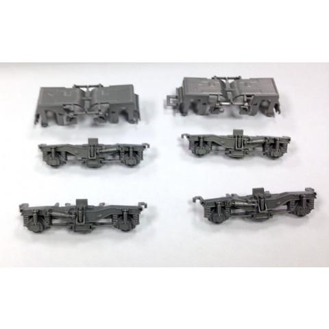 Kato HO - P42 jogo de capas para o Truck, em prata: X37-2186
