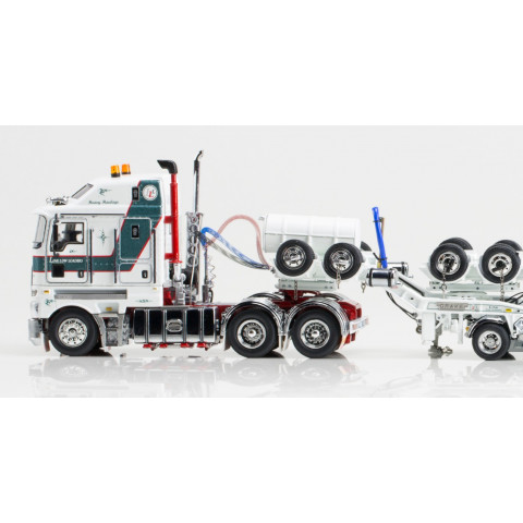 Drake - Kenworth K200 Prime Mover 2x8 Dolly e 3x8 Swingwing Link Low Loaders