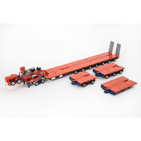 "Drake - Diecast: 7X8 Steerable Drake Trailer 2X8 Dolly, com ""Accessory Kit"""